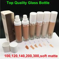 Wholesale instant bulbs for sale - Glass Bottle FB Pro Filt r Soft Instant Retouch Primer Beauty Matte Foundation Concealer Colors ML Makeup soft matte base retouch DHL