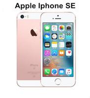 Wholesale smartphone gb resale online - Original Unlocked Apple iPhone SE quot inch GB ROM GB RAM MP A9 Chip iOS Fingerprint Dual core G LTE refurbished Smartphone