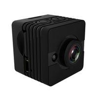 grabadoras de video al por mayor-360 grados SQ12 Mini Pocket DV HD 1080P Cámara deportiva 12MP Coche DVR Cámara de video multifunción Visión nocturna Voz Grabadora de video