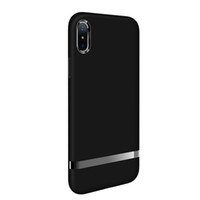 Wholesale pc case texture online - For Iphone X Case TPU And PC Material Fusion Internal Ventilation Heat Dissipation TexTure Design Electroplating PC Decoration For Iphone XS