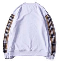 vêtements pour animaux pour femmes achat en gros de-2018 nouveau vêtement automne couture lâche broderie col hommes hommes et femmes 1992