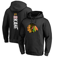 sudaderas nhl al por mayor-NHL CHICAGO BLACKHAWKS HOCKEY sudaderas con capucha Patrick Kane Jonathan Toews Corey Crawford sudadera con capucha
