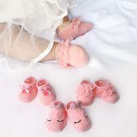 Wholesale princess socks for girls for sale - Group buy Princess Baby Girl Socks Infant Bowknot Lace Socks Summer Newborn Anti Slip Socks for Girls pairs