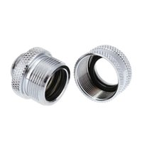 Wholesale Pc Water Cooling Fitting - G1 4 14mm OD 4 Laps Hard Tube Quick Fitting Connector for CPU cooling fan PC Water Cooling system