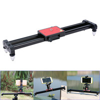estabilizador de cámara para dslr al por mayor-40cm Portátil Mini Video Slider Estabilizador Compacto Dolly Rail Youtube Vloging Gear Viajes DSLR DV Camera Atenuación Track GDeals