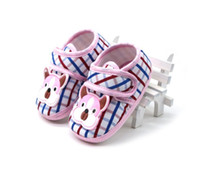 Discount crib animals - First Walkers Baby Toddler Shoes Infant Toddler Dog Print Baby Shoes Soft Sole Kid Girls Boy Baby Crib Shoes Prewalker 0-18 Months