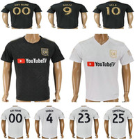 7082f84af36 Wholesale blank black soccer jerseys online - 2018 New Los Angeles FC  Football Jerseys GABER ROSSI