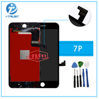 Wholesale Iphone Screen Test - For iPhone 7 Plus LCD No dead Pixel LCD Display Touch Screen 100% Tested Working Replacement Parts+Repair Tools With Free Shipping