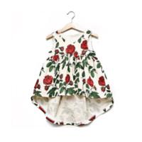 4t halloween kostüme großhandel-Baby Mädchen Kleid Einhorn Party 2018 Sommer Blumenkleider für Kinder Kleidung Vestidos Mädchen Prinzessin Kleid Kinder Kostüme