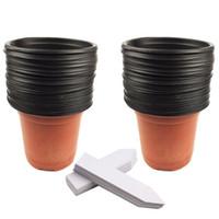 ingrosso vasi da fiori di semenzale-Commercio all'ingrosso caldo 50pcs / lot 4