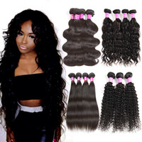 Wholesale best selling body wave hair for sale - Group buy 2017 Glary Best Selling Items Mink Brazilian Hair Bundles Malaysian Indian Peruvian Body Wave Hair Weaves Unprocessed Cheap Hair Extensions