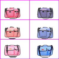 Wholesale portable ventilation - Single Shoulder Foldable Pet Bag Suit Small Pets Outdoor Travel Portable Ventilation Fashion Dog Cat Carrying Pocket New Arrival 33za2 Z