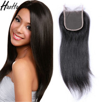 Wholesale Fast Texture - Lace Closure Straight and Body Wave 4x4 Lace Closure Natural Color Unprocessed Hair Extensions Shipping Fast for black women
