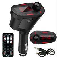chinesische radiosteuerung großhandel-Auto Audio Stereo Radio MP3 Player USB Ladegerät Wireless Modulator FM Transmitter Mit Fernbedienung LED Bildschirm T618