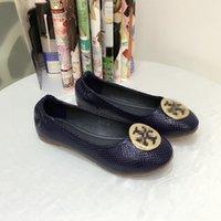 туфли для горячих тортов оптовых-Новые дизайнерские бренды продают как горячие пирожки одиночные туфли леди мода повседневная обувь пляжная обувь Large
