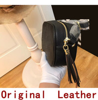 Wholesale genuine brand designer leather handbags - Designer Handbags high quality Luxury Handbags Wallet Famous Brands handbag women bags Crossbody bag Fashion Vintage leather Shoulder Bags