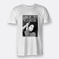 Wholesale del rey - Ultraviolence Lana Del Rey Regular S-3XL White T-shirt For Men's Tees