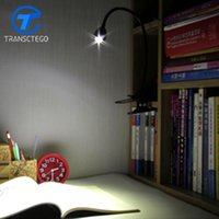 Wholesale small plugging lamp - TRANSCTEGO LED Clip Lamp Desk Light dormitory bedroom bedside table Lights for work student learning USB plug small Clamp lamps