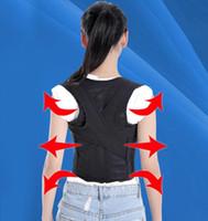chaleco de apoyo trasero al por mayor-Cuidado de la salud de alta calidad corrector de la postura corrector de la postura universal chaleco Back Support Brace envío gratis