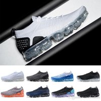 Wholesale best athletic socks - Best quality Vapormax 2018 mens shoes women sneakers Athletic Sport Running Designer Sock Shoes sup luxury shoes