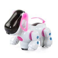 Wholesale pet toys for girls online - 1 Pc Kawaii Cartoon Electronic Pet Girl Gift Child Kids Joyful Dog Toys Funny Sing Dance Robot Cat Plastic Toys For Children
