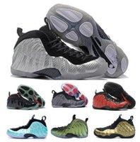 Wholesale Pearl Medium - Bests Penny Hardaway Basketball Shoes Black Men Chaussure Homme Air European Pearl Pro One 1 Shoe Cheap Authentic Sport Sneakers