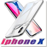 étuis de téléphone optimus lg achat en gros de-Gurante fit parfait pour 2018 NOUVEAU Iphone 8 XS XR MAX X Note 9 S7 0.3MM Crystal Gel Case