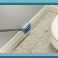 Wholesale Plastic Bath Cleaner - Mop Cleaning Brush Baseboard Buddy Extendable Scalable Swob Clean Brushes Plastic Steel Mop Simply Walk Glide Bath Microfiber Dust Brush Hot