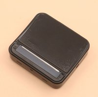 Wholesale hand rolling cigarette machines resale online - Men Cigartte Rolling Boxes Brief Style Black Cigarette Rolling Machine Hand Roller For MM Cigarette Paper Smoking Accessories