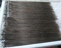 melhores extensões de cabelo remy fita venda por atacado-A melhor fita de venda do cabelo do cabelo 100% da fita de Remy na cor natural das extensões 100g / 40pieces do cabelo humano