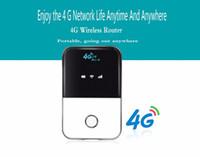 разблокированный маршрутизатор 4g lte оптовых-4G LTE WiFi маршрутизатор 150Mbps мобильный беспроводной точки доступа автомобиля Mifi разблокировать модем широкополосный ключ 3G 4G Wi-Fi маршрутизатор с слот для Sim-карты