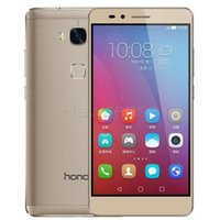 Wholesale Huawei Honor 2gb - Refurbished Original Huawei Honor 5X 4G LTE 5.5 inch Octa Core 2GB RAM 16GB ROM 13.0MP Android Smart Mobile Cell Phone Free DHL 1pcs