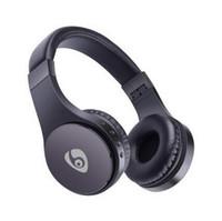 bandas de música al por mayor-S55 Auriculares inalámbricos para juegos Auriculares para juegos Bluetooth Estéreo Soporte para música Tarjeta TF con micrófono Diadema plegable con caja de venta al por menor VS Bluedio