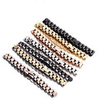 ingrosso alex ani-Modelli di esplosione dell'esportazione di DHgate, braccialetto di acciaio inossidabile di modo, braccialetti delle coppie, regalo del braccialetto dei monili del braccialetto chain degli uomini e delle donne