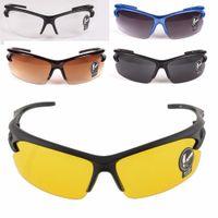 защитные очки очки оптовых-Anti-UV Protective Goggles Night vision Motocycle Riding Fishing Sports Hiking MTB Bicycle Cycling Sun Sunglasses Eyewear Men