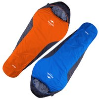Wholesale sleeping bags for children for sale - 2 Styles Outdoors Lightweight Three Season Mummy Sleeping Bag For Camping Hiking Backpacking Ultralight Compactable Free DHL H225Q