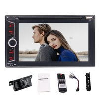 Wholesale Branded Dvd - Eincar Audio Double Din Bluetooth car DVD CD MP3 USB SD AM FM Car Stereo 6.2''Wireless Remote+rearview camera 2018 Brand New Version