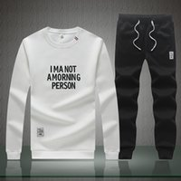Wholesale Mens Sweaters Baseball - New trend of leisure sports youth sweater suit autumn casual sweater pants BILLIONAIRE BOYS CLUB GRAPHIC MENS SWEATSHIRTS PYERX