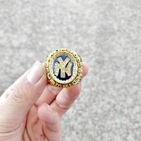 Wholesale gold ring s - Free shipping Hot 1998 New York Yankee s Championship Ring Fan Gift size 10-12 (More than 20 DHL free shipping