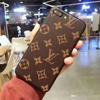 Wholesale iphone6 cases - Luxury brand printed pattern matte phone case for iPhone plus TPU Anti knock cover for iPhone6 Splus