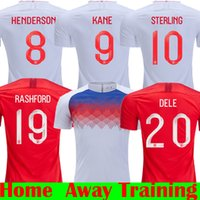 17dc6a48362 2018 DELE KANE STERLING RASHFOrd WALKER VARDY STURRIDGE 2019 Thailand Soccer  Jerseys 18 19 United Kindom Home Away Red Trainning Shirts