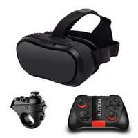 Wholesale VR Box D Glasses virtual reality for PC PS4 Xbox one Host Virtual Reality Goggles All In One VR Bluetooth Controllers