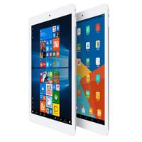 планшет с диагональю 9,7 дюйма оптовых-9.7-дюймовый Teclast X98 Plus II планшетный ПК Windows 10 + Android 5.1 Intel Cherry Trail Z8300 Quad Core 1.44 ГГц 4 ГБ оперативной памяти 64 ГБ ROM