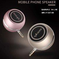 kleine mobile lautsprecher großhandel-Lautsprecher A5 Handy-Direktstecker Audio Mini-Kleinlautsprecher drahtloses externes Mikrofon Großhandel
