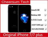 Wholesale apple iphone 32g resale online - Original Unlocked Apple iPhone iphone plus G LTE Quad core MP G RAM G G G ROM Fingerprint refurbished Phone