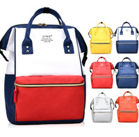 Wholesale rucksack outdoor laptop - Fashion Girl Travel Satchel Rucksack Laptop Students Shoulder SchoolBag Handbag Mommy Backpacks Large Capacity DDA756 Outdoor Bags