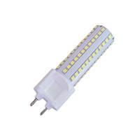 bombilla de voltaje al por mayor-G12 LED luz de maíz 2835SMD108pcs 10W LED lámpara de ahorro de energía lámpara halógena alternativa (bombilla G12 70W) voltaje de entrada AC90-265V