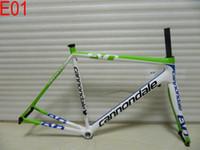 ingrosso bicicletta pieno di carbonio-2018 SuperSix EVO Hi Mod telai in carbonio super leggero con forcella + serie sterzo + pinza + reggisella completo in carbonio