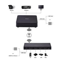 drahtloses hdmi audio großhandel-MEASY W2H MAX Drahtlose Audio- und Videoübertragungsbox 1080P 3D HDMI WIHD Sender und Empfänger Video Audio Transmission Kit
