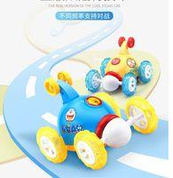 Wholesale Animal Stunts - Dump truck remote control car children rechargeable tumbling stunt car electric toy car boy remote